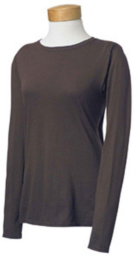 Gildan Softstyle Ladies' Long Sleeve Tee (L)