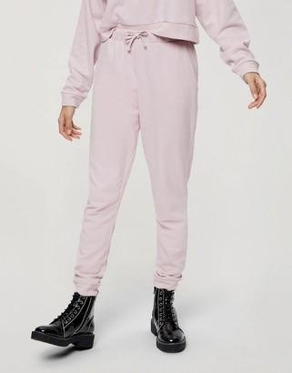 Miss Selfridge joggers in lilac