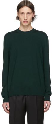 Cobra S.C. Green Wool Zegna Baruffa Sweatshirt