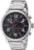Tommy Hilfiger Men's 1791234 Jake Analog Display Japanese Quartz Silver Watch