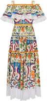 Dolce & Gabbana robe longue à