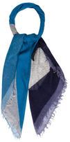 Fendi Cashmere & Silk Monster Scarf