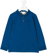 Burberry longsleeved polo shirt - kids - Cotton - 6 yrs