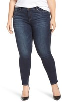 Plus Size Women's Two By Vince Camuto Stretch Skinny Jeans