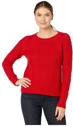 Pendleton Diamond Cable Crew Sweater