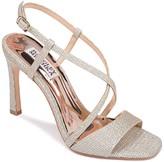Badgley Mischka Ebiza Sparkly Block Heel Sandal