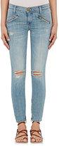 Current/Elliott Women's The Silverlake Zip Jeans-BLUE