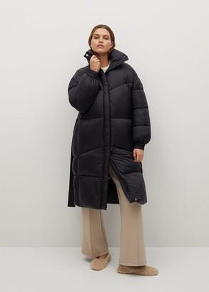 MANGO Oversized padded coat