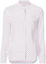 HVN polka dot blouse