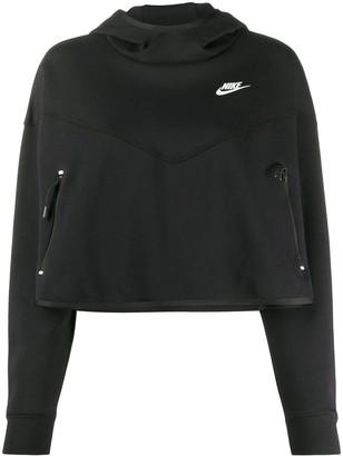 Nike Tech Fleece cropped hoodie