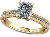 Macy's Diamond Filigree Mount Setting (1/6 ct. t.w.) in 14k Gold