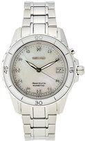 Seiko SKA881 Silver-Tone Watch