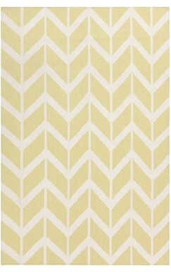 Surya Fallon Hand-Woven Wool Pear Area Rug Rug Size: Rectangle 2' x 3'