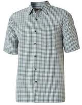 Royal Robbins Men's Mojave Pucker Short Sleeve Plaid Shirt - Ivy Short Sleeve Shirts