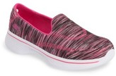 Skechers Toddler Girl's Go Walk 4 Slip-On Sneaker