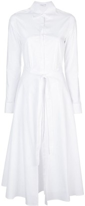 Rosetta Getty Apron Wrap Dress