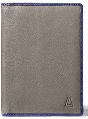 LEATHER ARCHITECT-Men's 100% Leather RFID Passport Holder-