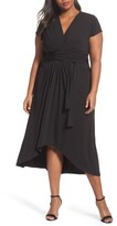 MICHAEL Michael Kors Plus Size Women's Jersey Wrap Maxi Dress