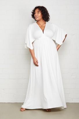 White Label Long Caftan - Plus Size
