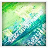 Parvez Taj Green Haze by Shadow Box Frame)