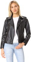 BB Dakota Jerilyn Studded Washed Jacket