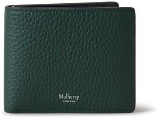 Mulberry 8 Card Wallet Green Heavy Grain