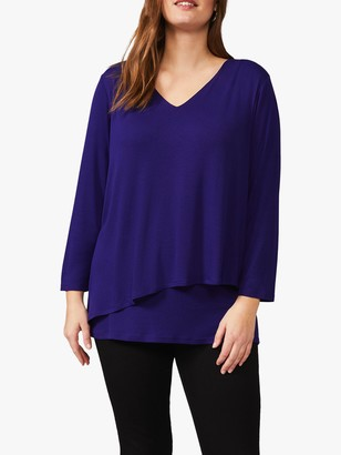 Studio 8 Talia Double Layer Top, Purple