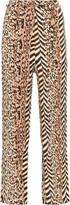 Nanushka Luma animal-print trousers