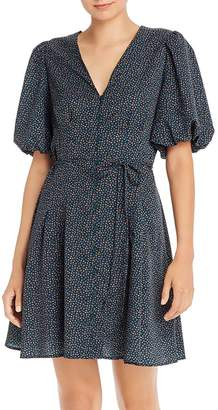 French Connection Graziana Light Floral-Print A-Line Dress