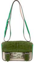 Reed Krakoff Alligator & Snakeskin Academy Bag w/ Tags