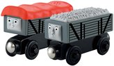 Fisher-Price Thomas & Friends Wooden Railway Giggling Troublesome Trucks 2-Pack