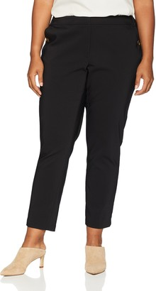 Calvin Klein Women's Size Pant with Pocket Buttons