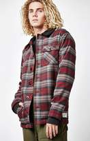 Analog ATF Daily Driver Plaid Flannel Long Sleeve Button Up Shirt