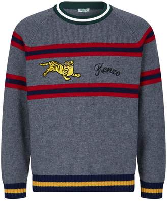 Kenzo Jumping Tiger Knitted Sweater