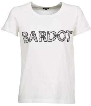 BRIGITTE Bardot ALINE women's T shirt in White