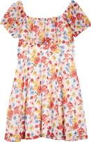 Trixxi Floral Chiffon Dress