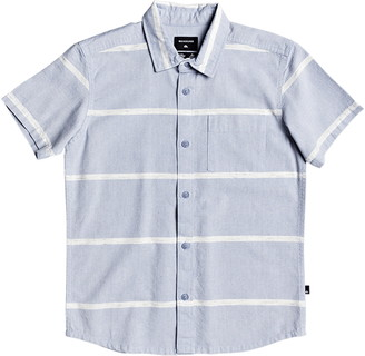 Quiksilver Kalua Kobi Stripe Short Sleeve Button-Up Shirt