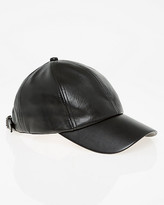 Le Château Leather-Like Baseball Cap