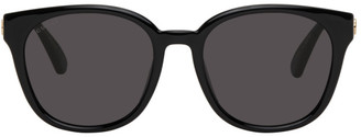 Gucci Black Injection Square Sunglasses