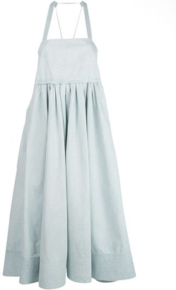 Proenza Schouler White Label Apron midi dress