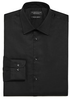 The Men's Store At Bloomingdale's The Men's Store Solid Stretch Slim Fit Dress Shirt