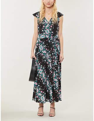 Diane von Furstenberg Isla floral-print crepe midi dress