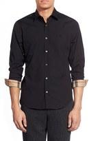Burberry Men's 'Cambridge Aboyd' Slim Fit Sport Shirt