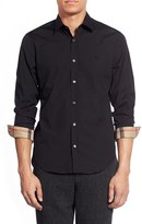 Burberry Men's 'Cambridge Aboyd' Trim Fit Sport Shirt