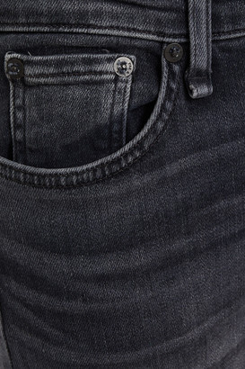 Rag & Bone Cate Cropped Zip-detailed Mid-rise Skinny Jeans