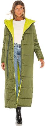 NSF Francine Full Length Puffer Jacket