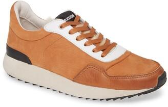 Blackstone SL91 Genuine Shearling Trim Low Top Sneaker