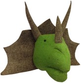 The Well Appointed House Fiona Walker England Triceratops Head Wall Decor for Kids