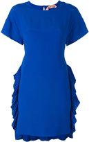 No.21 side pleat dress - women - Silk/Acetate - 42
