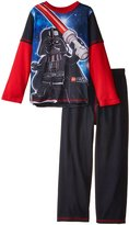 Star Wars Little Boys' Lego Pajamas, Black/Red, 6/7